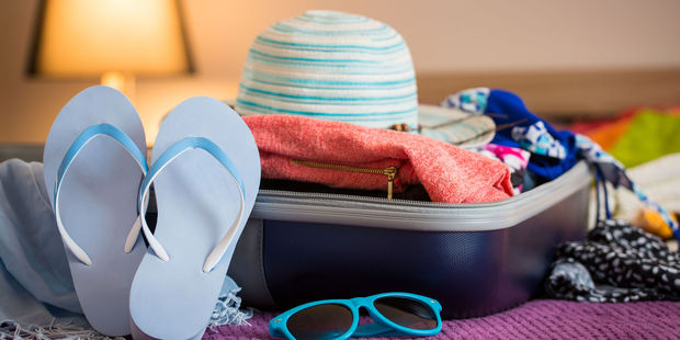 Keep a suitcase packed with items you know you'll need. Photo / 123RF