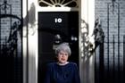 Theresa May said she was calling an election