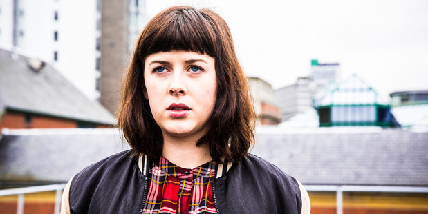 Alexandra Roach as Becky in Utopia.