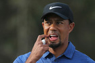 Tiger Woods is likely to go another full year without playing a major. Photo / AP
