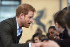 Britain's Prince Harry has opened up about his life coping with his mother's death. Photo / AP
