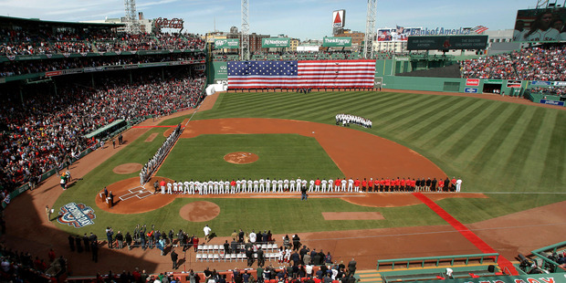 Fenway Park - the home of the Boston Red Sox. Photo / AP