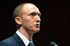 Carter Page, an adviser to then US Republican presidential candidate Donald Trump last year. Photo / AP file