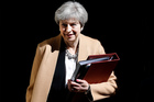 Theresa May's Downing Street demarche setting an election date for June 8 was an astonishing act of political courage. Photo / AP