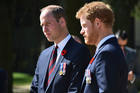 Prince William (left) tried to persuade Prince Harry to seek help. Photo/AP