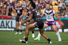 NZ Warriors v Melbourne Storm NRL rugby league match at Mt Smart Stadium. Photo / Jason Oxenham