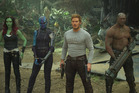 Early reviews are mostly in favour of Guardians Of The Galaxy Vol. 2, starring Chris Pratt and Zoe Saldana. Photo / supplied