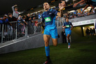 Sonny Bill Williams of the Blues runs out during the round eight Super Rugby match between the Blues and the Highlanders. Photo / Getty Images.