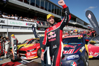 Race winner Shane Van Gisbergen (Red Bull Holden). Photo / Photosport