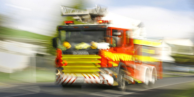 A man is in a serious condition after he was freed after being trapped under a tractor on State Highway 1 at Te Horo, Kapiti. Photo / File