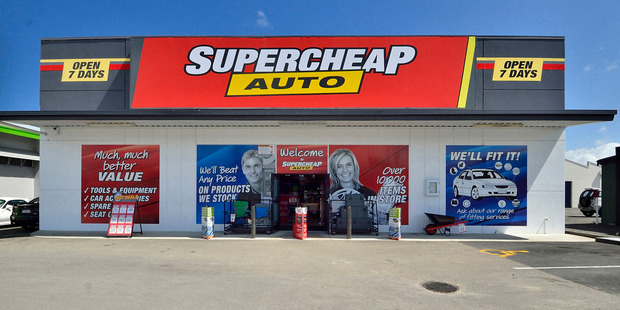 The property tenanted by Gisborne Super Cheap Auto sold for $1,520,000, at an 8 per cent yield. Photo / Supplied