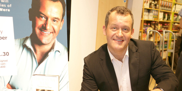 Paul Burrell signing copies of the 'The Way We Were' in 2006. Photo / Getty Images