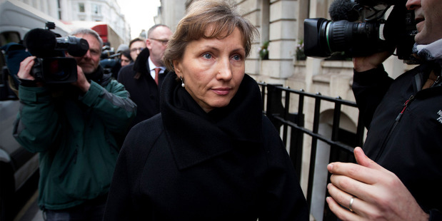 Marina Litvinenko has continued to fight for justice over her husband's killers. Photo / Getty Images