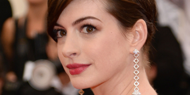 Actress Anne Hathaway. Photo / Getty