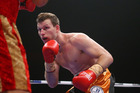 Jeff Horn of Australia in action against Randall Bailey of the USA. Photo/Getty Images