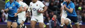 Kyle Sinckler could be a surprise selection for the British and Irish Lions tour when the squad is named on Thursday (NZT). Photo / Getty Images.