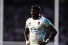 As the youngest member of the Lions squad England's Maro Itoje will be trusted to take care of the Lions mascot on their tour of New Zealand. Photo / Getty Images.
