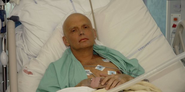 Loading Former Russian spy Alexander Litvinenko was poisoned by Russian agents after he turned whistleblower against the state. Photo / Getty Images