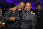 Cuba Gooding Sr. and actor Cuba Gooding Jr.attend the after-party of the world premiere of American Gangster. Photo / Getty