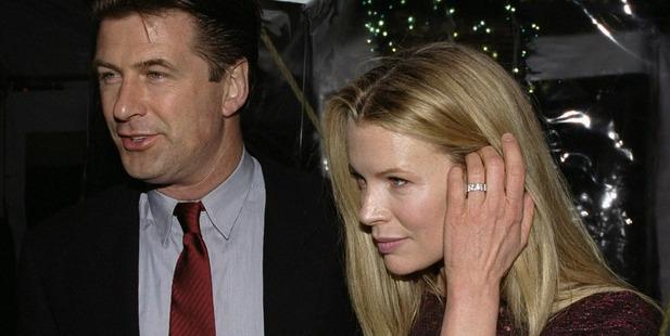 Alec Baldwin and ex wife Kim Basinger. Photo / Getty
