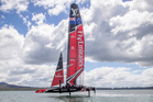 The next 34 days loom as a crucial period for Emirates Team New Zealand. Photo / Hamish Hooper