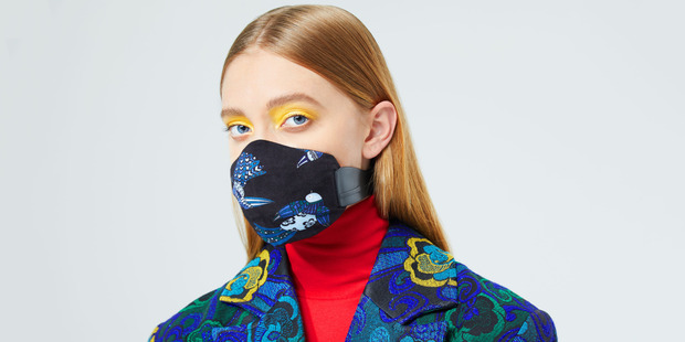 Healthy Breath face mask, MEO with cover design by Karen Walker. Picture/supplied