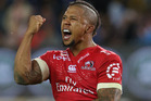 Elton Jantjies of Lions. Photo / Getty Images.