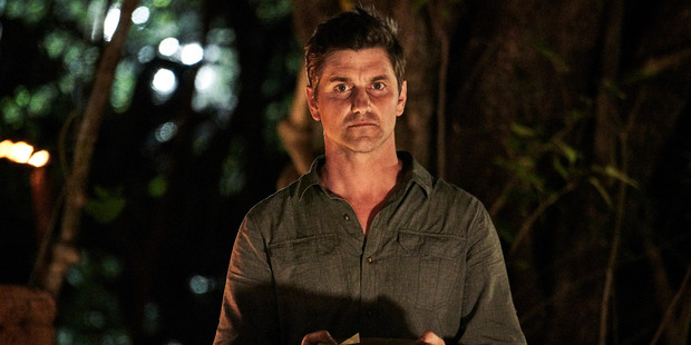 Matt Chisholm had a tough time during his first tribal council. But he battled on.