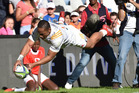 Toni Pulu of the Chiefs during the Super Rugby match between the Cheetahs and Chiefs. Photo / Getty Images.