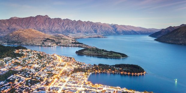 Blanco highlighted Queenstown as his favourite destination in New Zealand. Photo / Getty