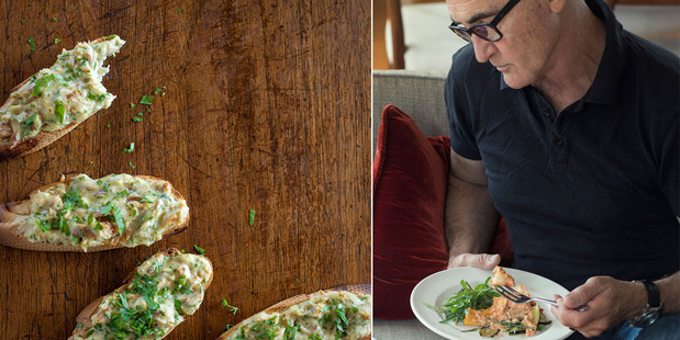 Ray McVinnie has some delicious fish toasts and other deliciously light ideas for supper. Photos / Bite magazine