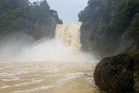 A man was reported to be in the water near Hunua Falls late last night. File photo