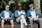 Alan Arkin, Morgan Freeman and Michael Caine star in Going in Style.