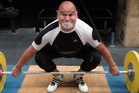 Former Commonwealth Games weightlifting champions Tony Ebert prepares for World Masters Games 2017. Photo/Brett Phibbs