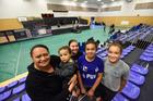 Hope Solomon, Te Toi O Nga Rangi Mareikura, Mikayla Jeffery-Smith, Waiwhakaata Tangitu and Te Wairere Te Moana celebrated being Maori and Catholic this weekend. Photo/George Novak
