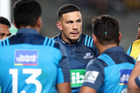 Sonny Bill Williams wore his custom Blues jersey for the first time on Saturday. Photo / Peter Meecham