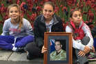 Kaytlen, Kyla and Nikita Tamatea are still mourning the death of their father. Photo / Supplied