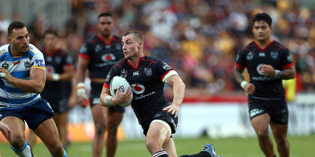 Message to Kieran Foran - pitch a tent and put an end to the circus. Photo / Photosport