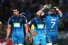 A dejected Jerome Kaino after the Blues lost to the Hurricanes. Photo / Photosport