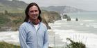 Coast New Zealand Season 2 host Neil Oliver at Tongaporutu. Photo / Supplied