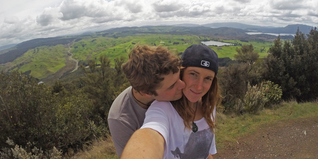 Ryan Lucas has vowed to carry on with the pursuit girlfriend Louise Jull was equally passionate about. Photo / Supplied