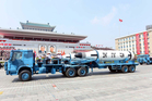 A photo distributed by the North Korean government of Polaris submarine launched ballistic missiles (SLBM). Photo / AP