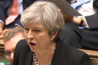 British PM Theresa May pledged not to call an early election, but is so confident she has done it anyway. Photo / AP