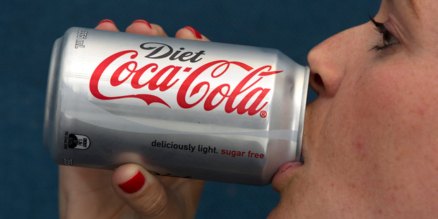 The consumption of diet drinks can increase the risk of a deadly stroke, according to a new study. Photo / Brett Phibbs