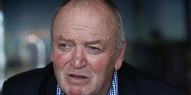 Former All Blacks coach Graham Henry. Photo / Doug Sherring.