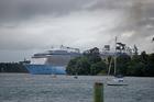 'Ovation of the Seas' coming into Tauranga in January. Photo/George Novak