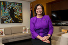 Education Minister Hekia Parata in her Beehive office at Parliament. Photo / Mark Mitchell