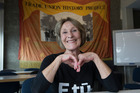 Kristine Bartlett, the rest home worker who won the pay  equity victory, photographed in Wellington. Photo/ Mark Mitchell