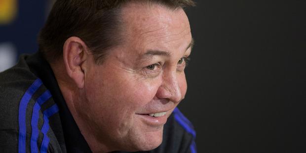 Steve Hansen...says his goal kickers will do the job against the Lions under pressure. Photo / Brett Phibbs
