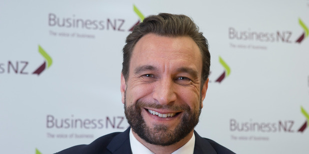 Business NZ chief executive Kirk Hope. Photo / Mark Mitchell